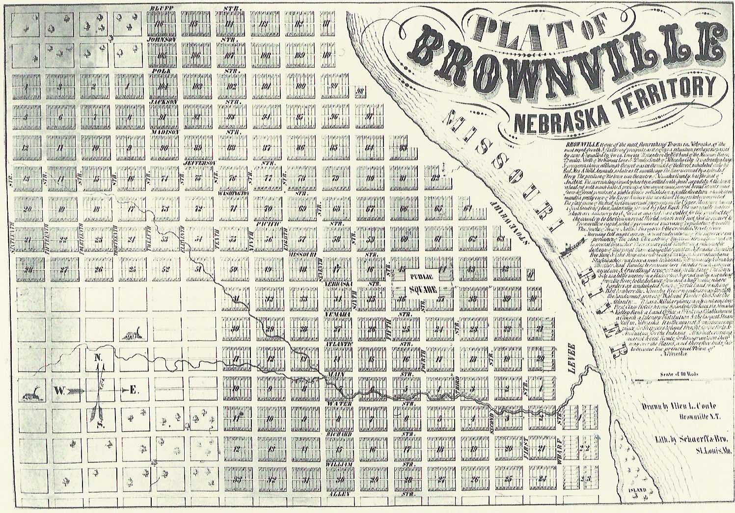 Brownville Map
