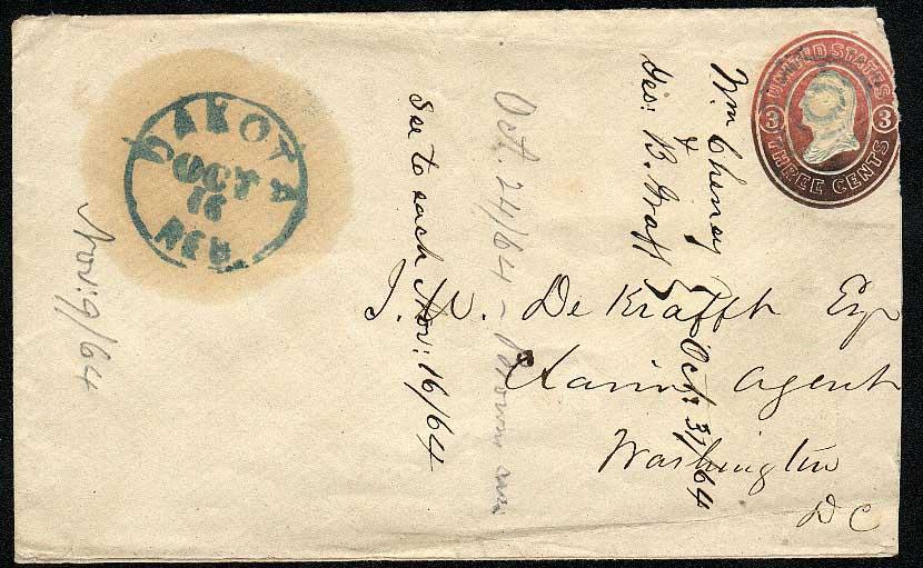 Dakota 1864 10 16