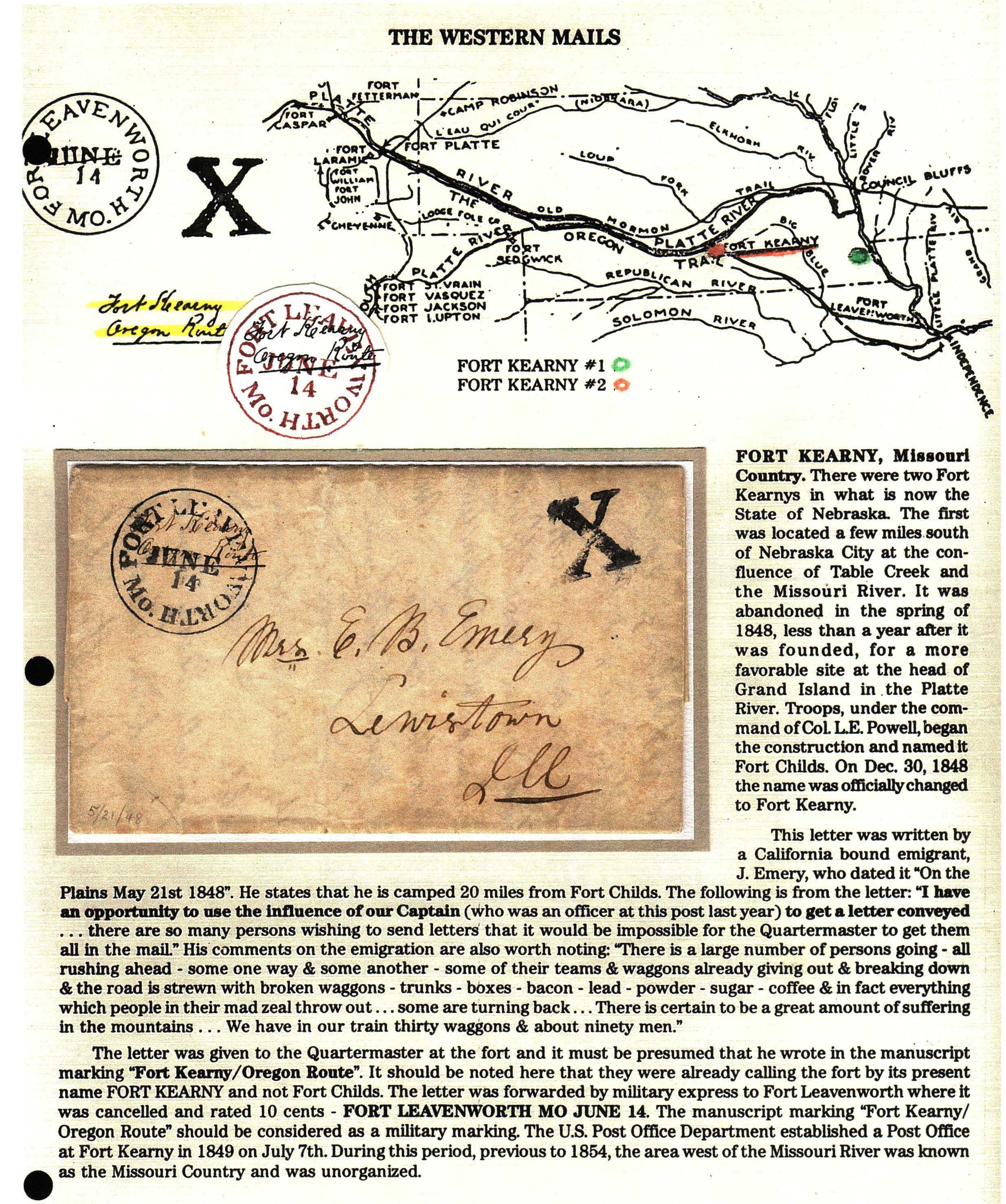 FortKearney 1848 05 21