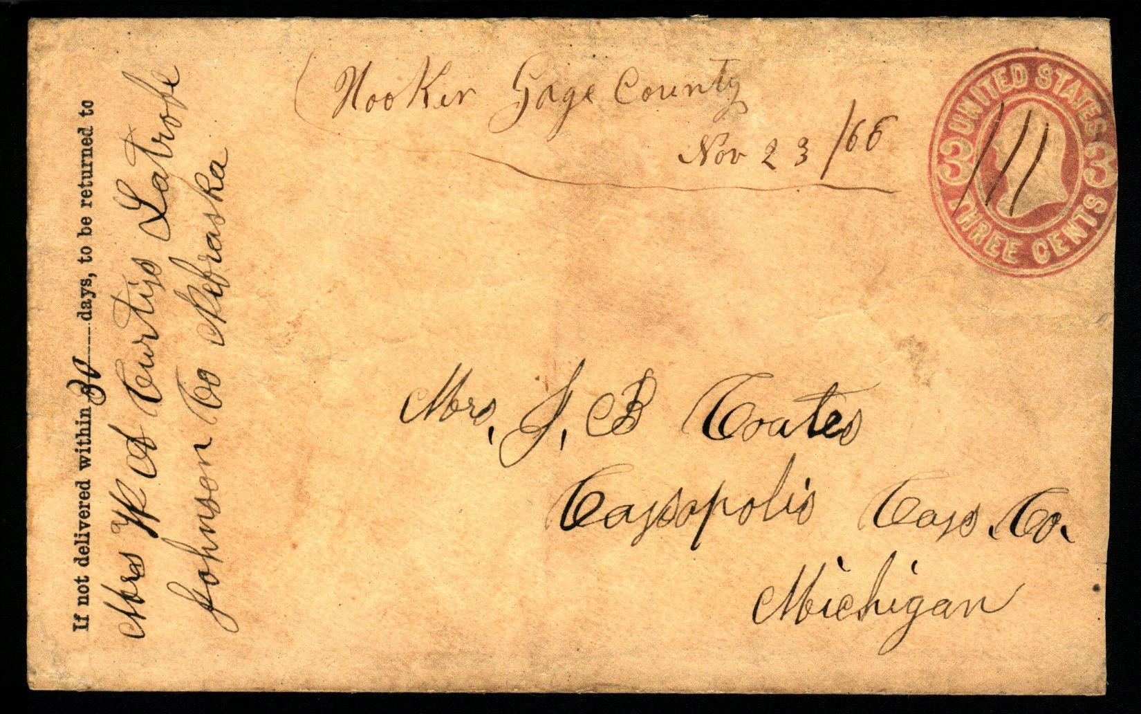 Hooker 1866 11 23