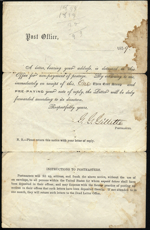 NebraskaCity 1859 05 31 Encl