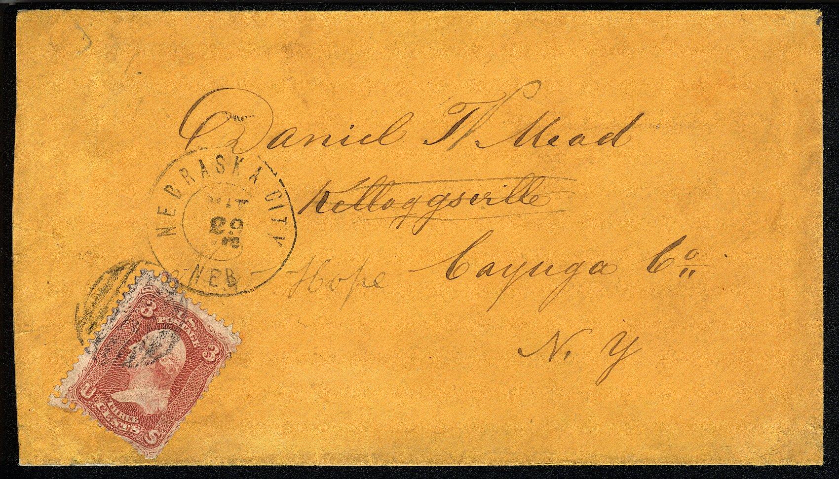 NebraskaCity 1862 05 29 Obv