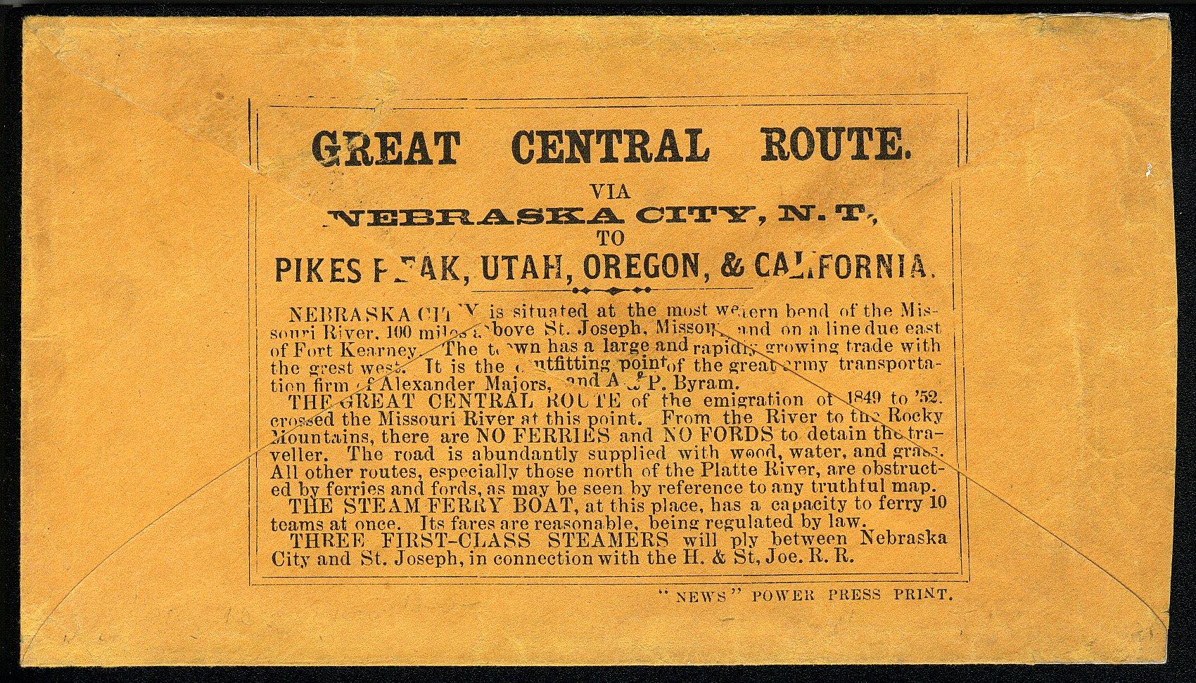 NebraskaCity 1862 05 29 Rev