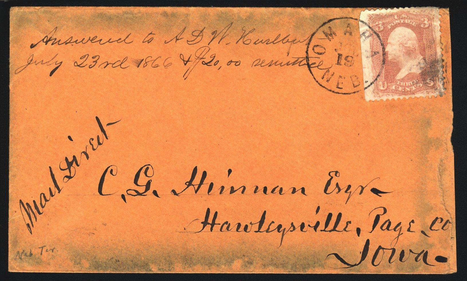 Omaha 1866 07 19