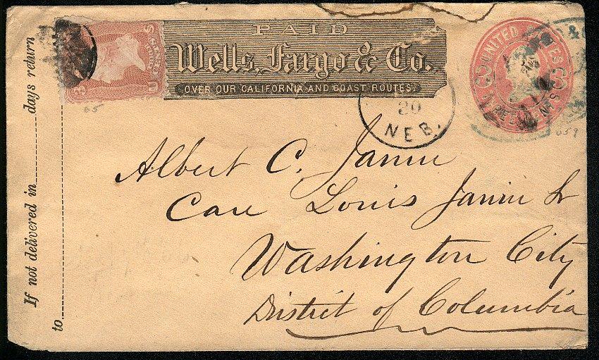 Omaha 1866 08 30 Wells