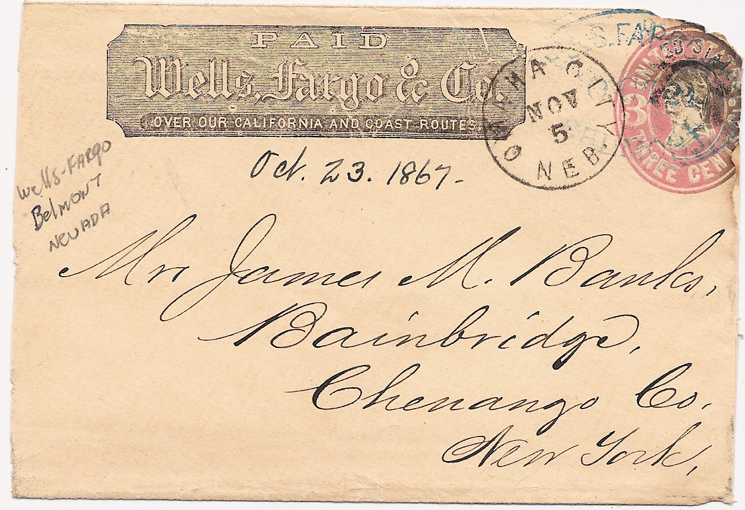 OmahaCity 1867 11 05 WellsFargo