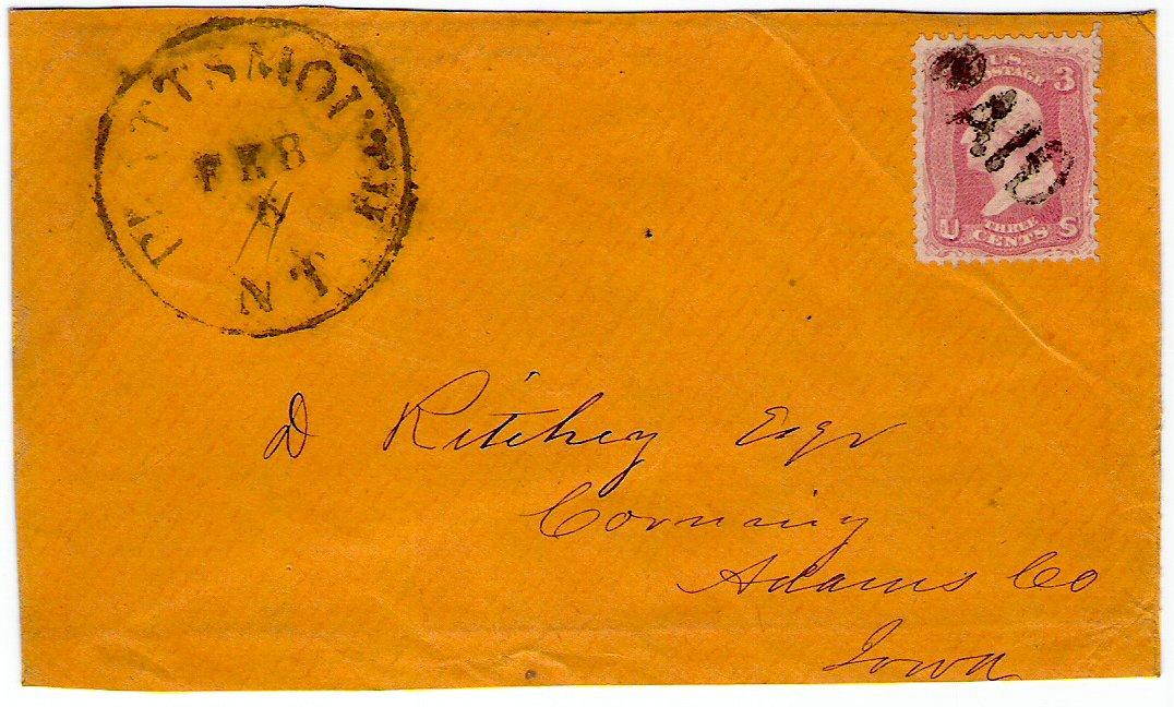 Plattsmouth 1862 02 11