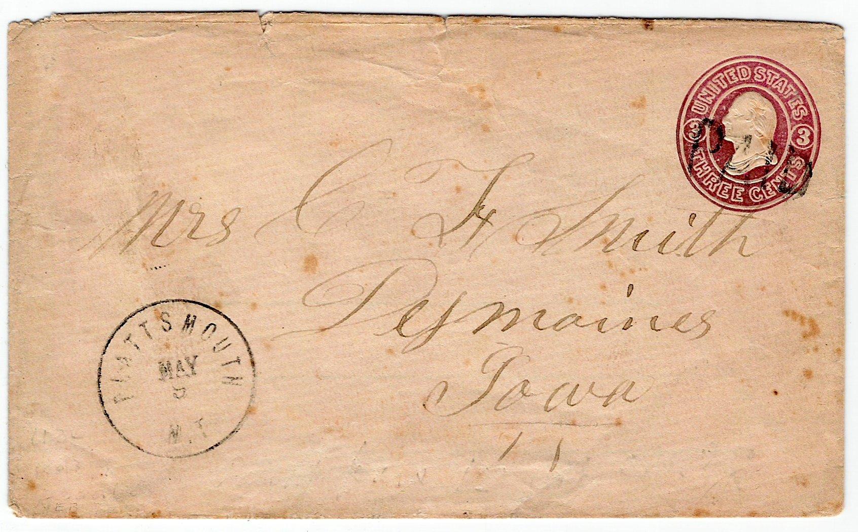 Plattsmouth 1862 05 09