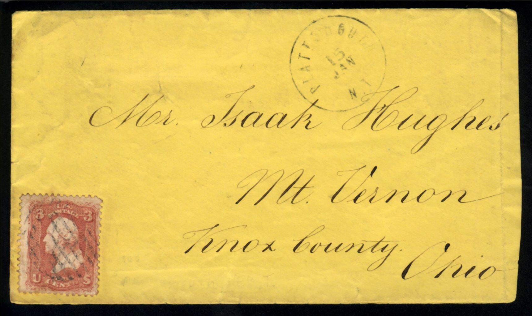 Plattsmouth 1863 01 15
