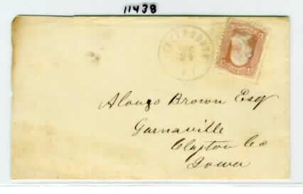 Plattsmouth 1864 12 24