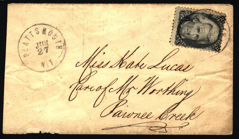 Plattsmouth 1865 06 27