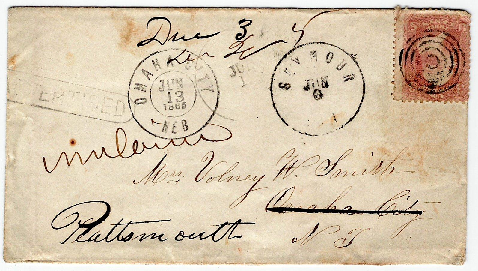 Plattsmouth 1865 07 01