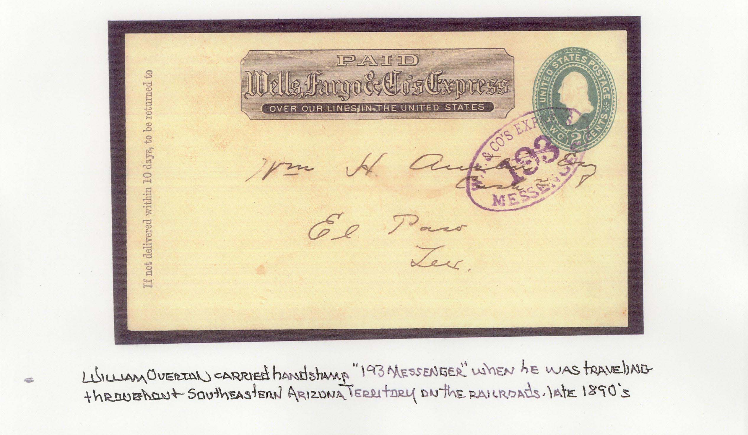 WF 193Messenger 1880s
