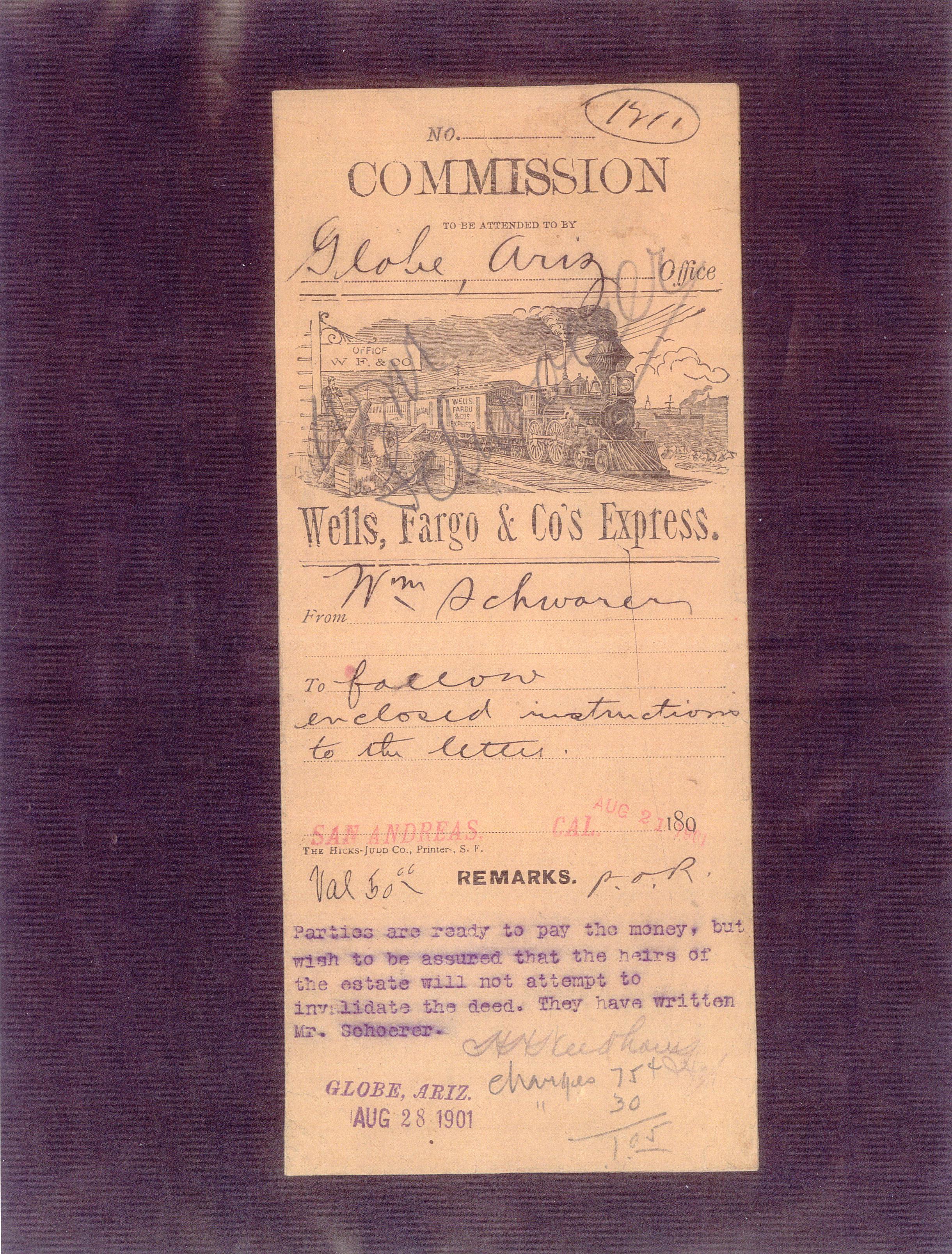 WF Globe Commission