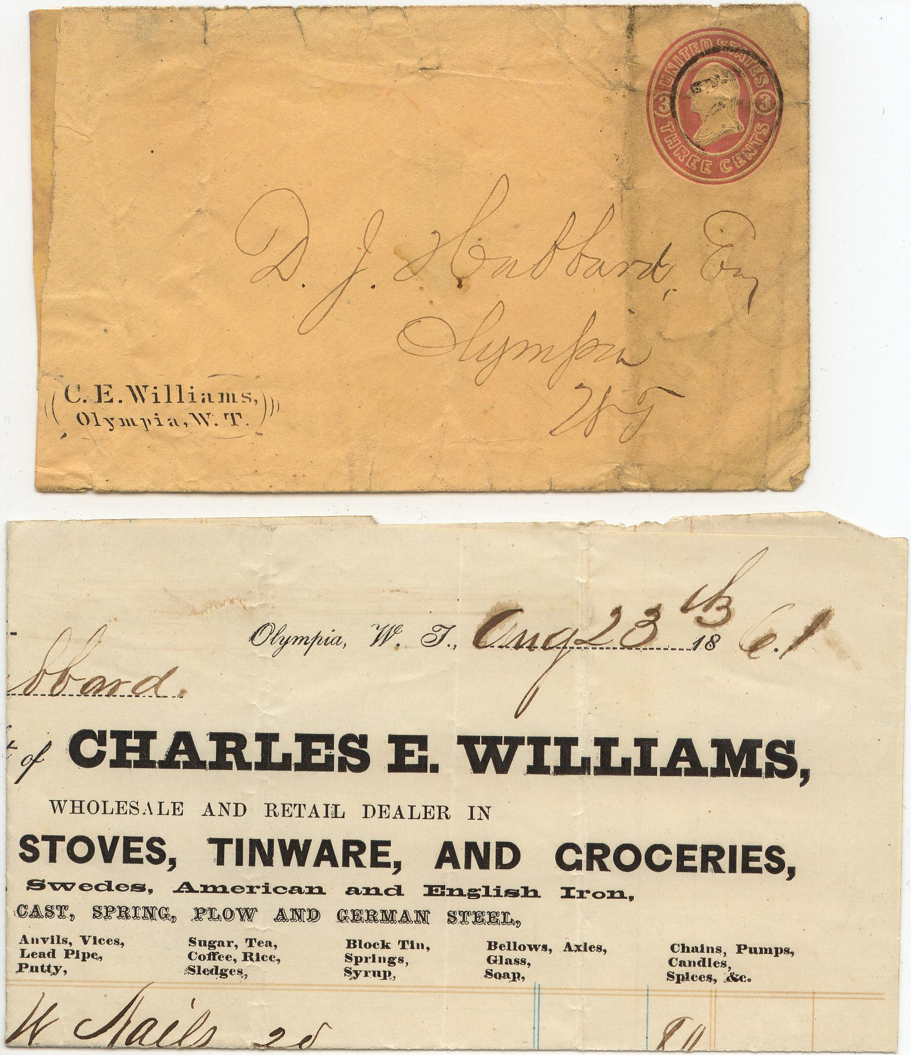 Williams CE Corner Card 23Aug1861 0903 Mader