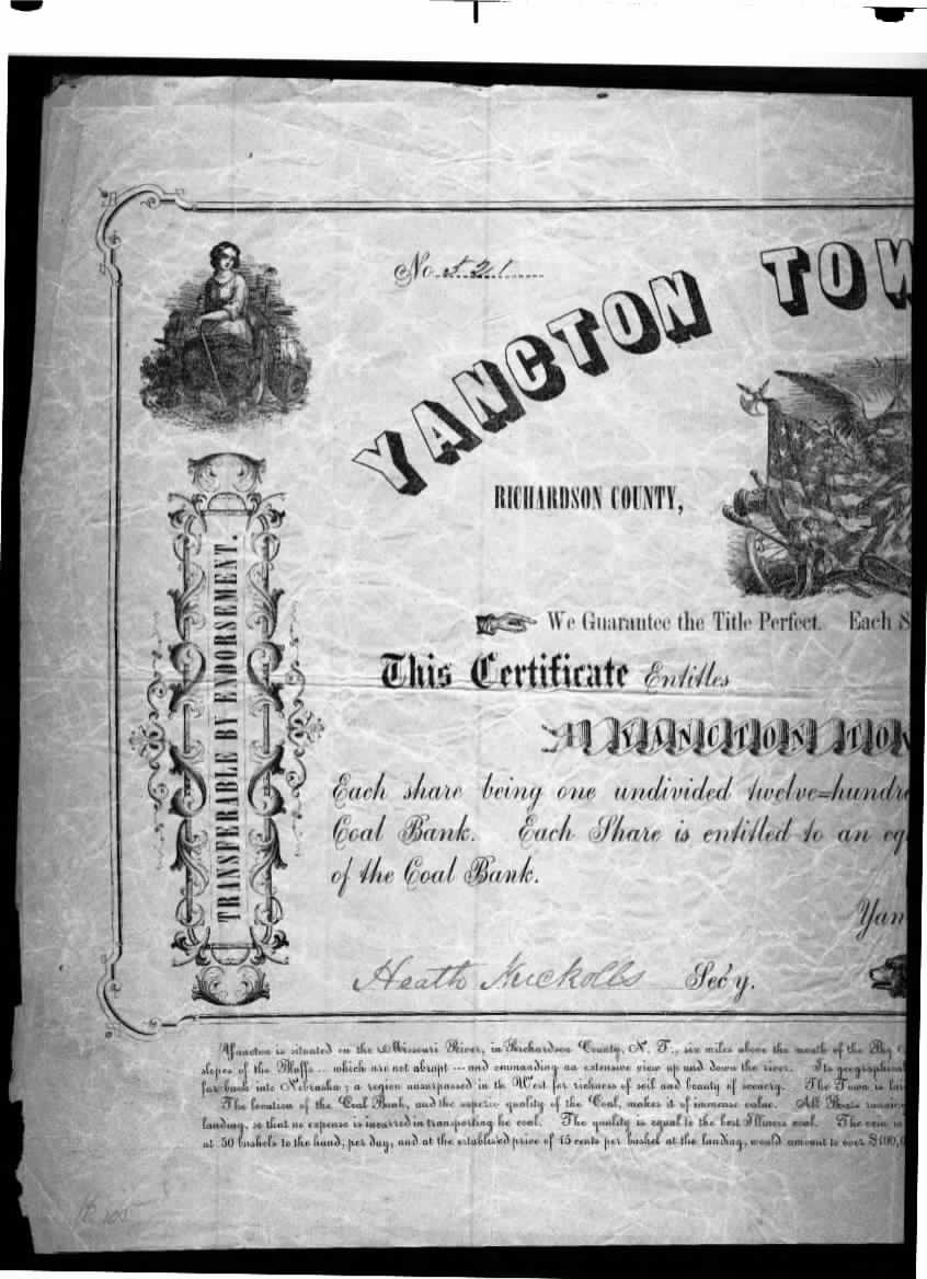 Yancton 1858 Stock1