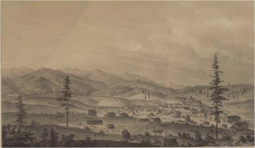 Weaverville in 1856