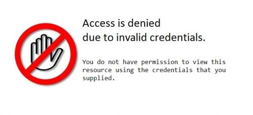 Access Denied!