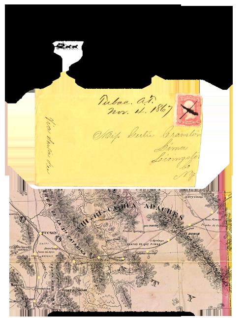 Tubac, Arizona Territory - 1867