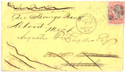 Maricopa Wells, Arizona Territory - 1869