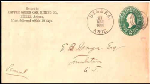Bisbee, Arizona Territory, 1888