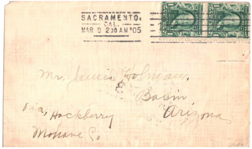 Basin, Arizona Territory - 1905
