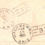 Basin Handstamp 1905