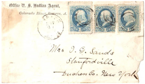Parker, Arizona Territory - 1874