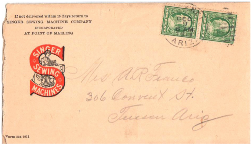 Morenci, Arizona Territory - 1911