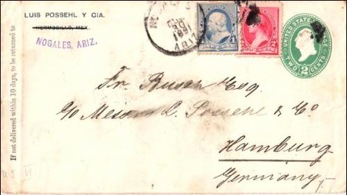 Nogales, Arizona Territory - 1891