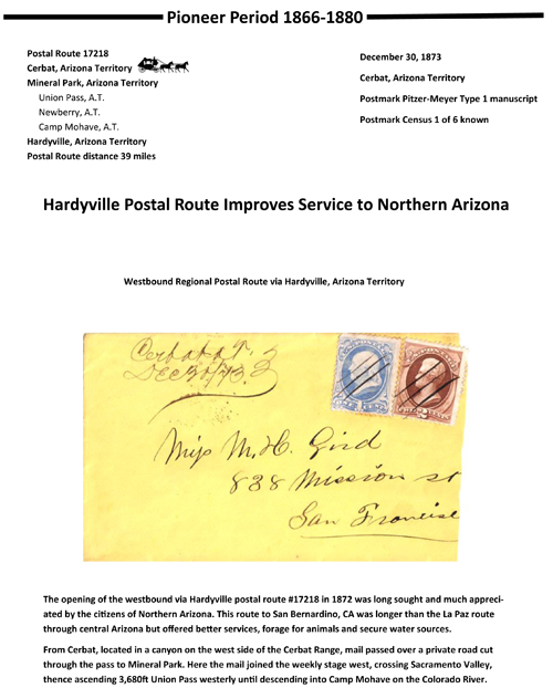 Cerbat, Arizona Territory - 1873