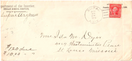 Supai, Arizona Territory - 1904