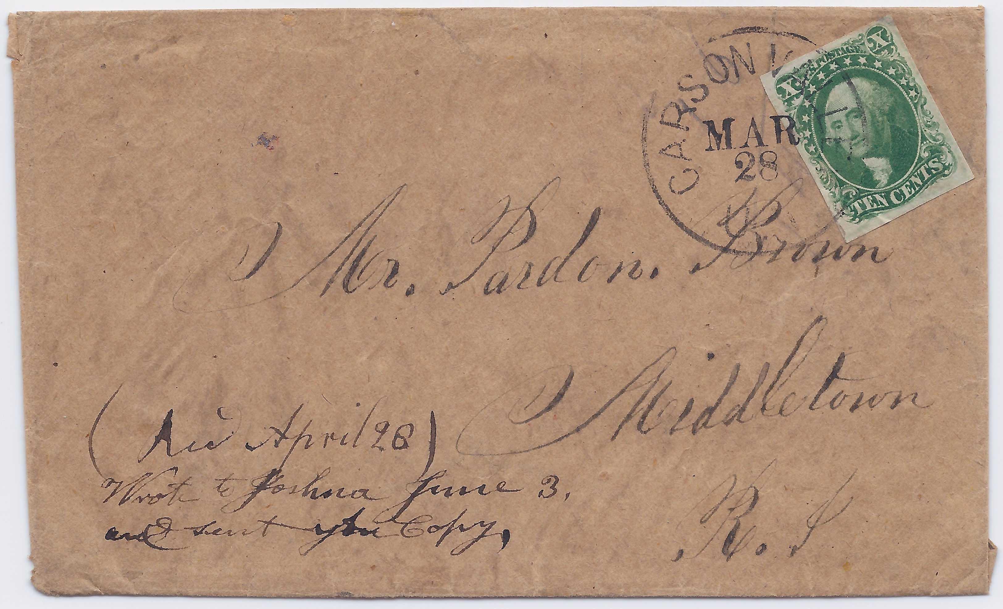 Bennett #268 Lot 1864