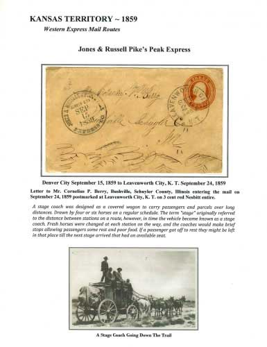 Jones & Russell Pike's Peak Express