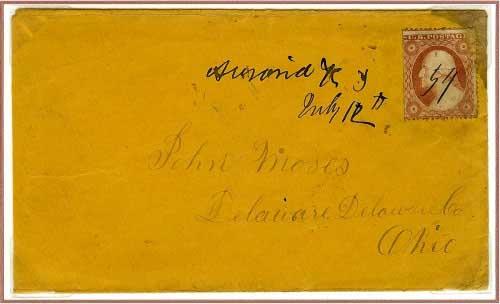 Auraria, K. T. ~ July 12, 1859