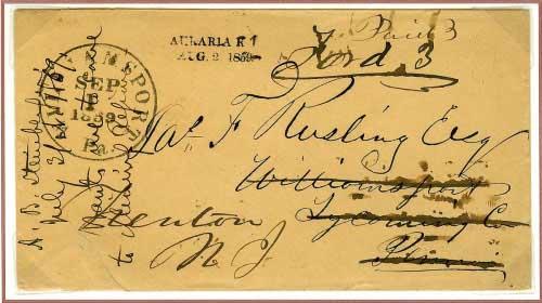 Auraria, K. T. ~ August 2, 1859