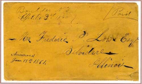 Boulder, N. T. ~ October 3, 1860