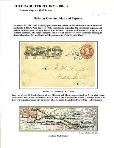 Holladay Overland Mail and Express