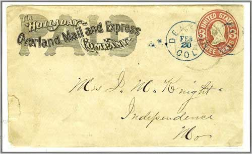 Denver, Col. February 20, (1866)