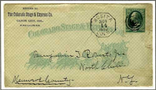 Rosita, Colorado - November 14, 1880