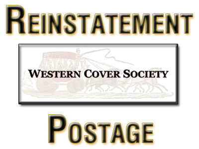 Expired Western Cover Society Active Membership Reinstatement | Outside U.S.A. Postage