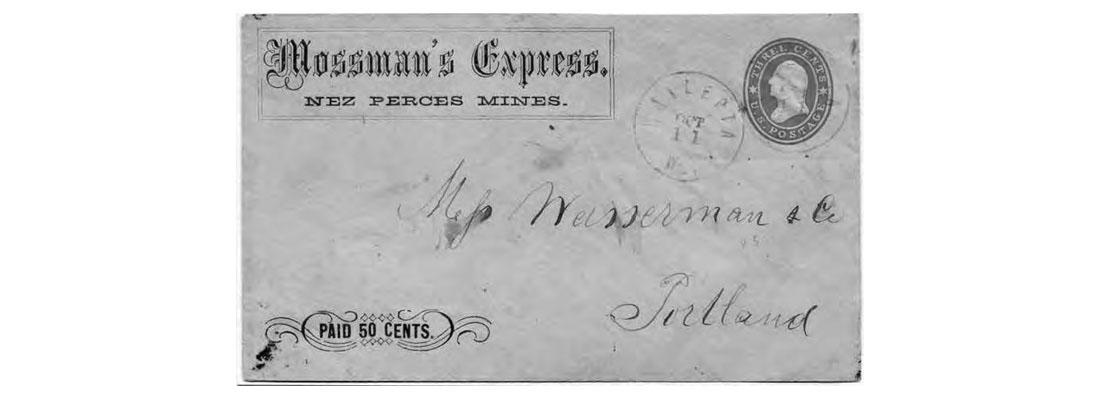 Mossman's Express (1861- 1863)