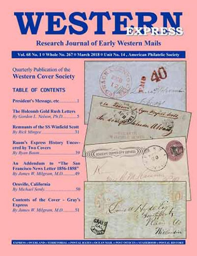 Latest Issue of the Western Express