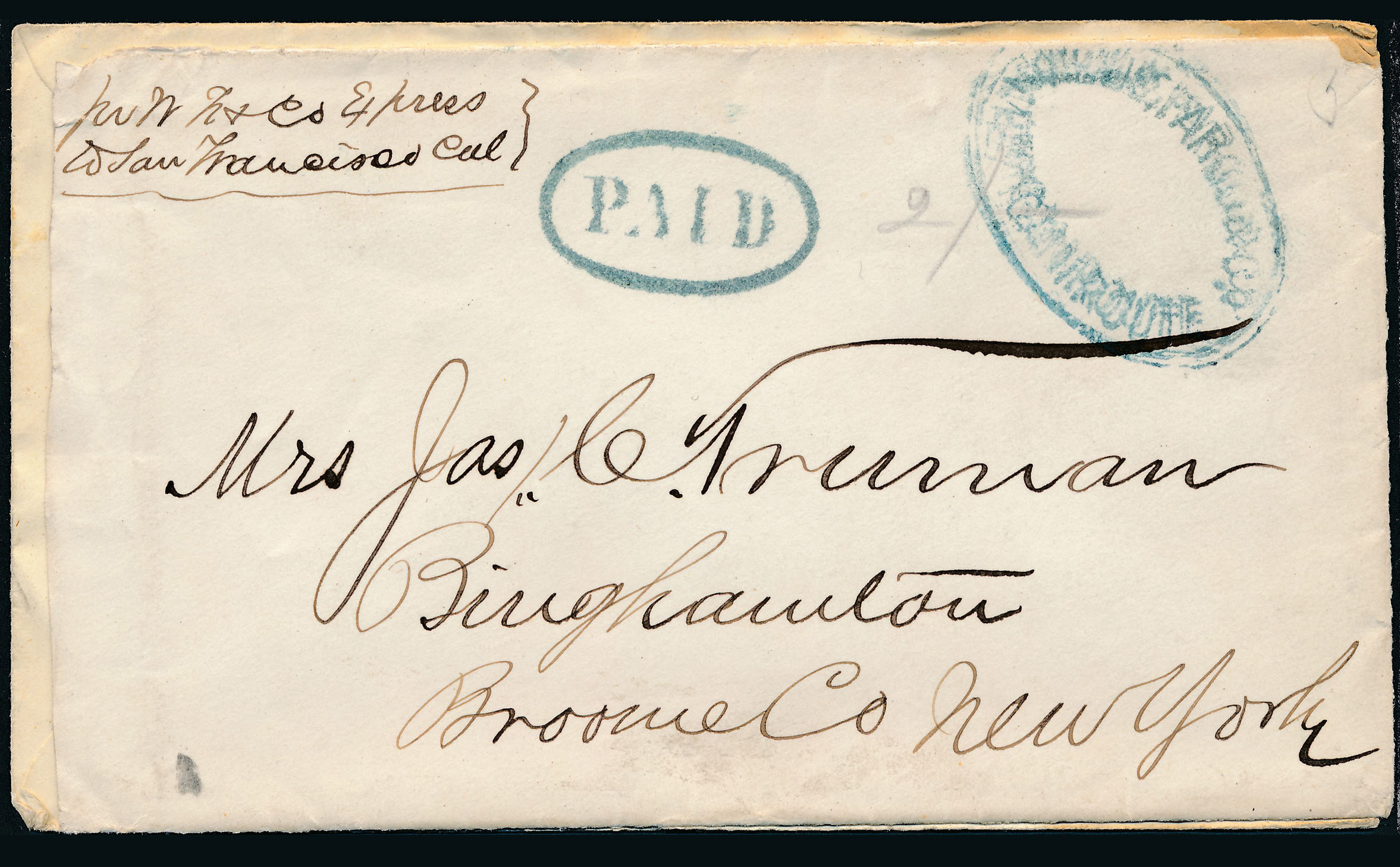 0017 2 Covers Arizona And New Mexico Express Manuscripts B