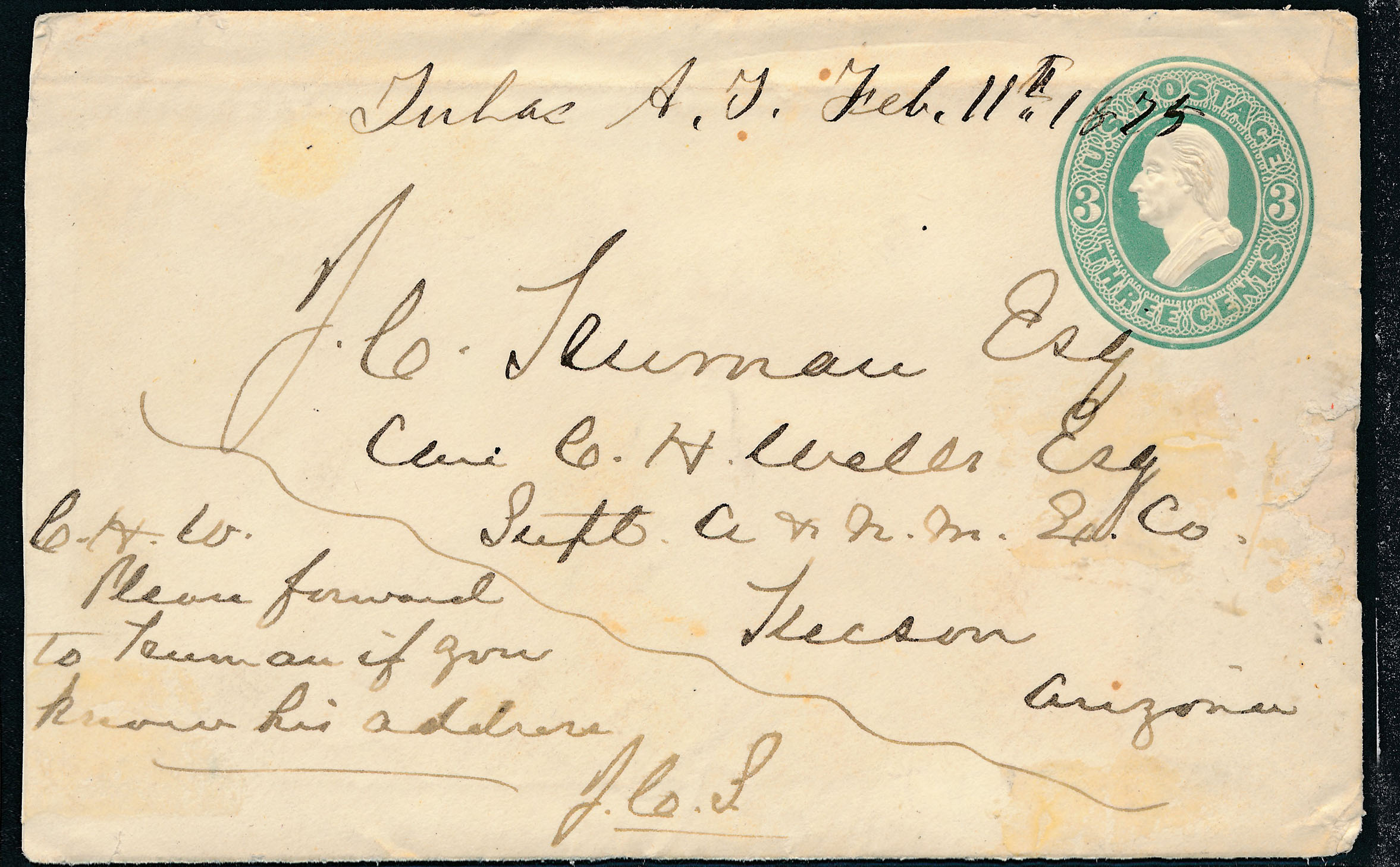 0017 2 Covers Arizona And New Mexico Express Manuscripts T