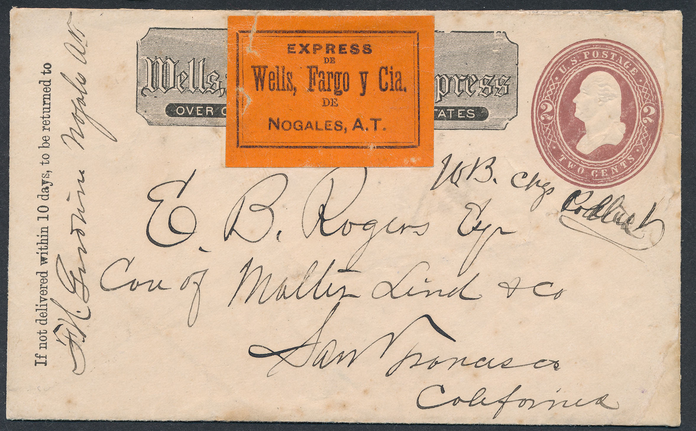 0057 1 Cover And 1 Receipt Wells Fargo Cover With Label T