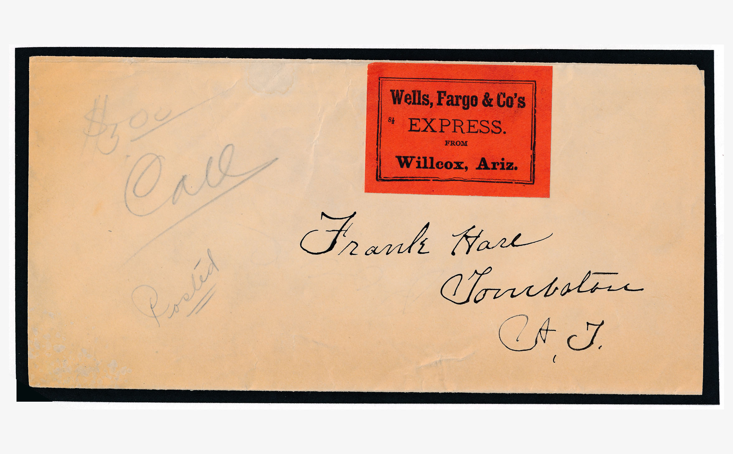 0075 Cover Wells Fargo Williams With Label