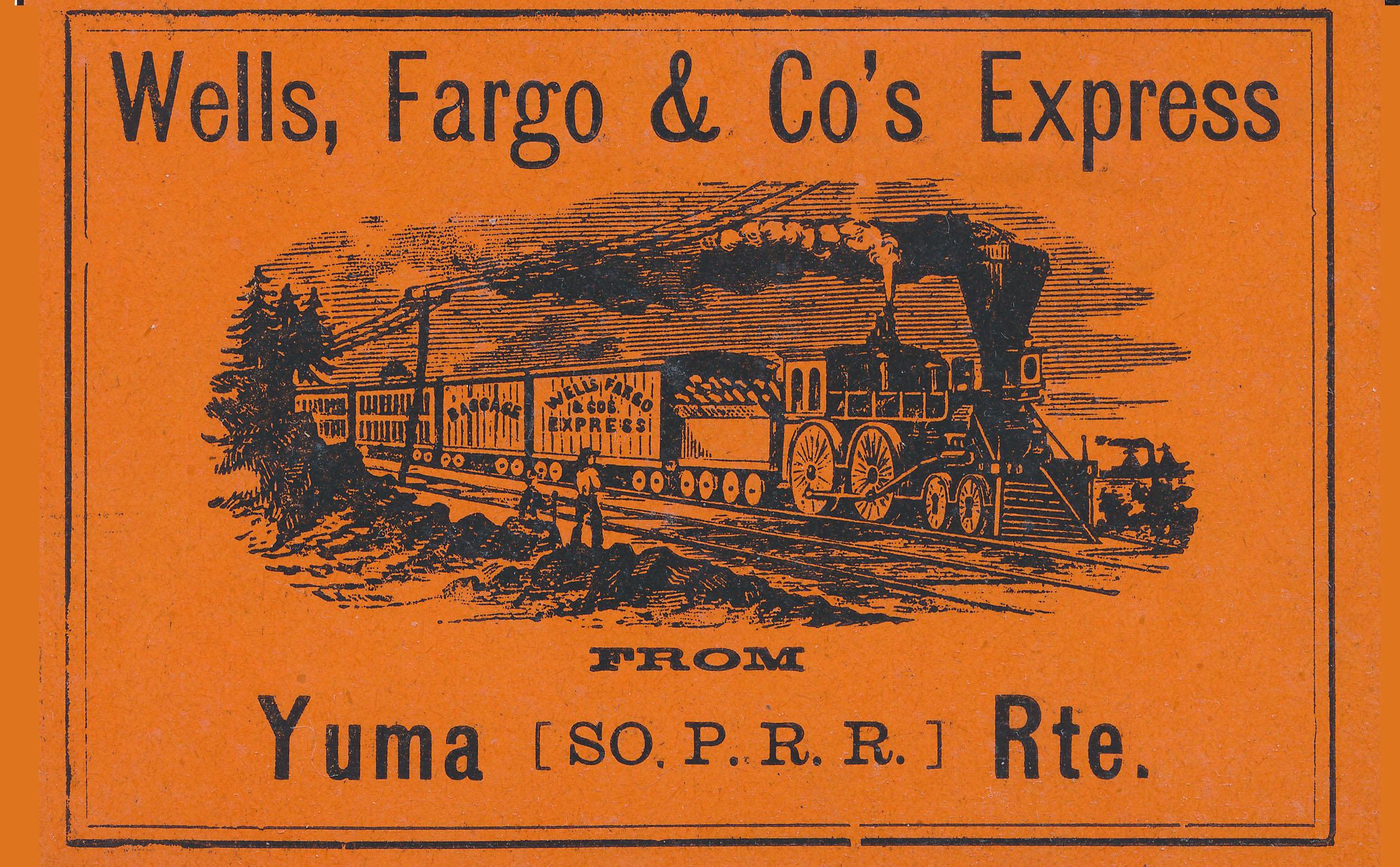 0076 2 Items Yuma WF Label Peoria Postal Notice T