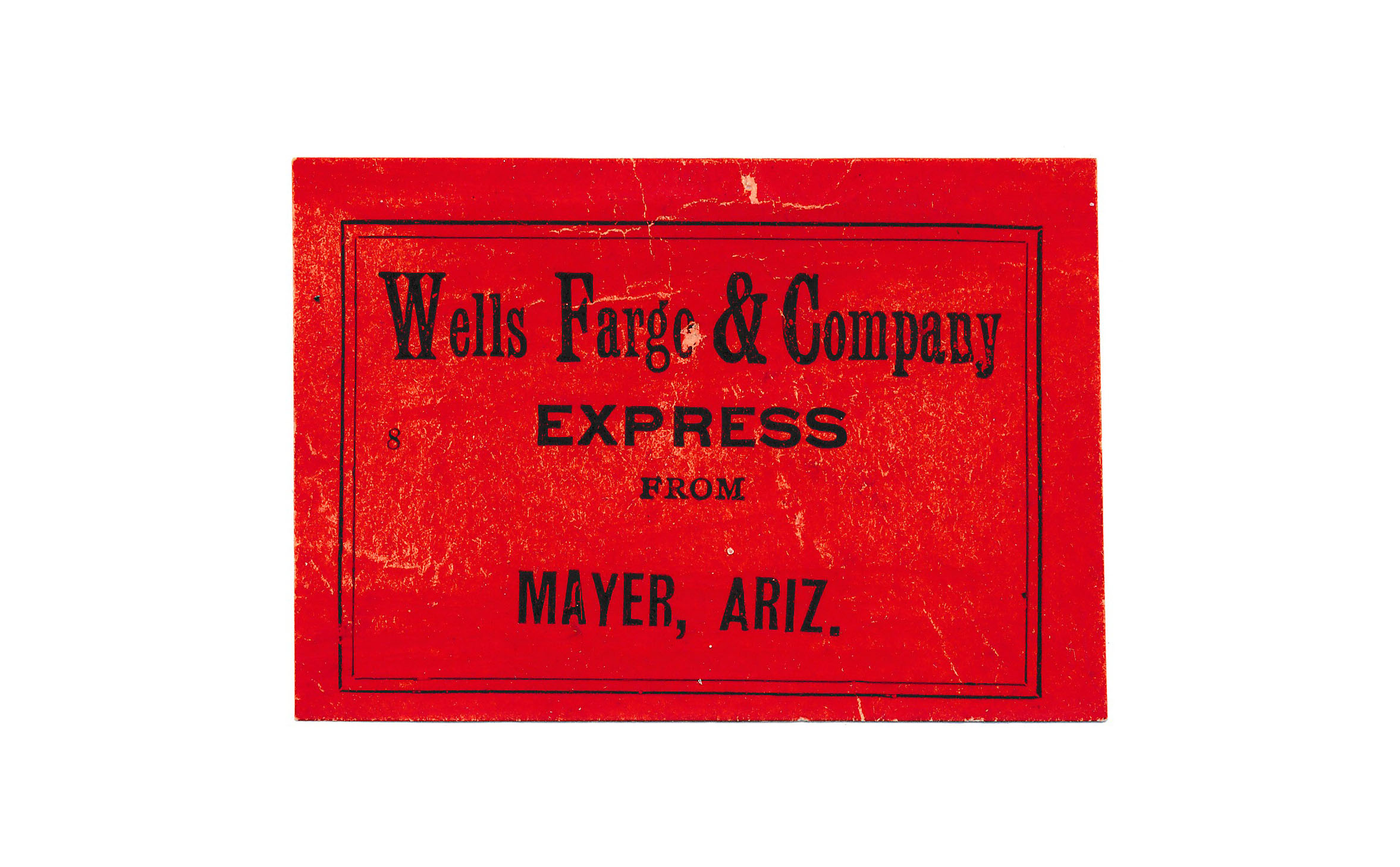 0078 4 Labels Wells Fargo 1 Congress Junction 2 Hot Springs 1 Mayer D
