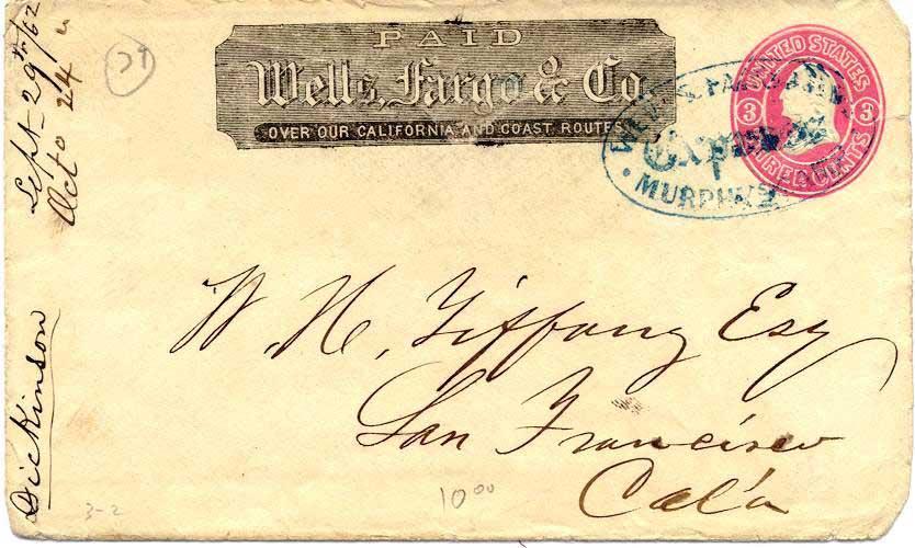 WC11295 MURPHY'S CAMP, CA 3 2,bl U82